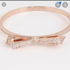 Kate Spade Rose Gold Bow Bangle